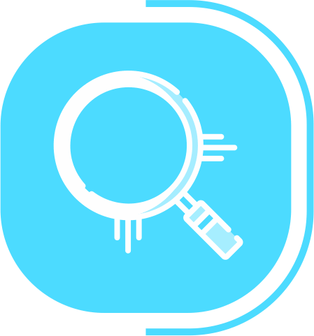 halaman fitur lengkap digital marketing - segmen OUR SERVICES - icon Research