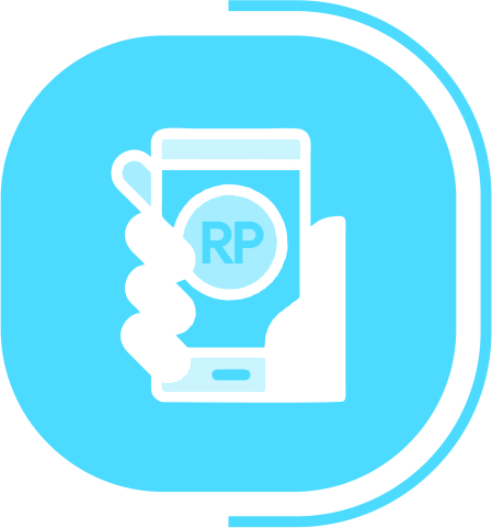 halaman fitur lengkap dompet outlet - segmen KEMUDAHAN PEMBAYARAN DIGITAL - icon Beragam Digital Payment