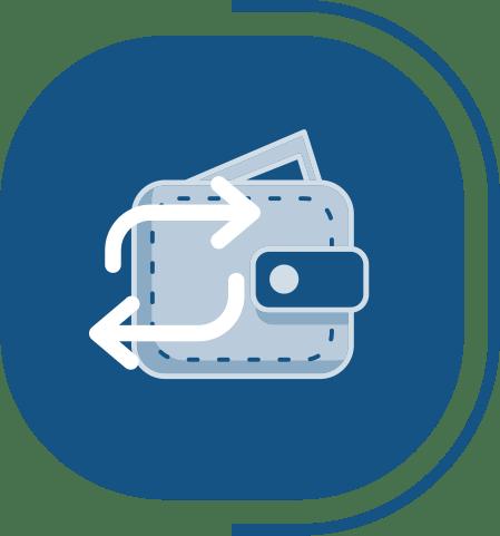 halaman fitur lengkap kas & bank - segmen KONTROL KAS RAPI & AMAN - icon Update Saldo