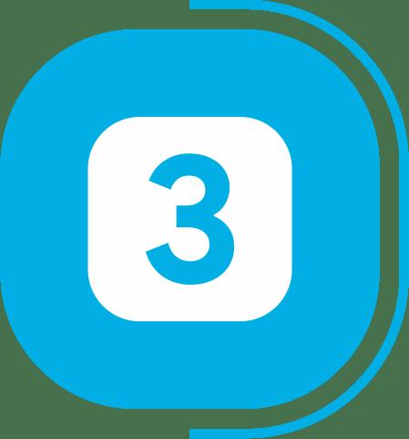 halaman fitur lengkap kasir - segmen transaksi Mudah & Cepat - icon Bertransaksi dengan 3 langkah praktis