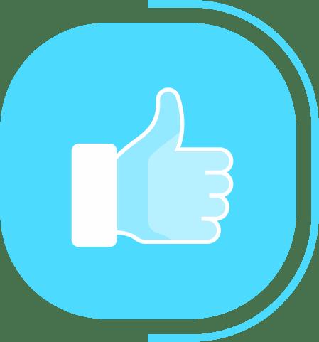 halaman fitur lengkap kasir - segmen transaksi Mudah & Cepat - icon user friendly