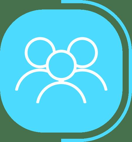 halaman fitur lengkap manajemen pengguna - segmen Usaha Berjalan AutoPilot dengan Aman - icon Mendukung Multi Pengguna