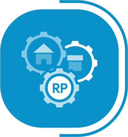 halaman fitur lengkap manajemen produk - segmen serba otomatis - icon Nilai Aset Real Time