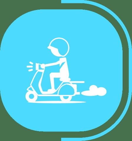 halaman fitur lengkap pesanan - segmen Pengiriman Gudang - icon Delivery Order