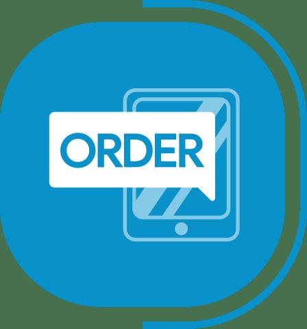 halaman layanan aplikasi kasir canggih - segmen kasir advance - icon manajemen pesanan