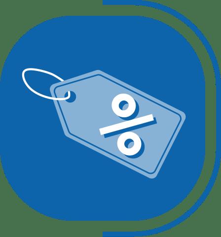 halaman layanan aplikasi kasir canggih - segmen kasir advance - icon manajemen promo