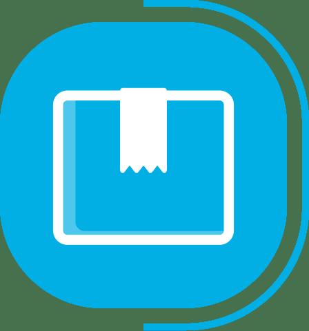 halaman layanan aplikasi kasir canggih - segmen kasir basic - icon manajemen produk