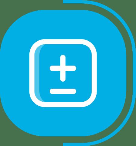 halaman fitur lengkap manajemen produksi - segmen SIMPEL & MUDAH DIGUNAKAN - icon Atur Jumlah Produksi