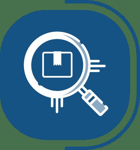 halaman fitur lengkap manajemen produksi - segmen SIMPEL & MUDAH DIGUNAKAN - icon Pantau Inventory Mudah