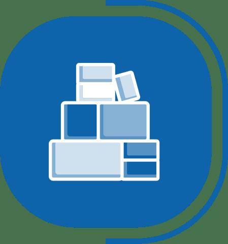 halaman fitur lengkap manajemen resep paket - segmen SIMPEL & SERBA OTOMATIS - icon Inventory Terjaga