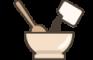 icon manajemen resep & paket